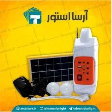 پک قابل حمل برق و روشنایی خورشیدی